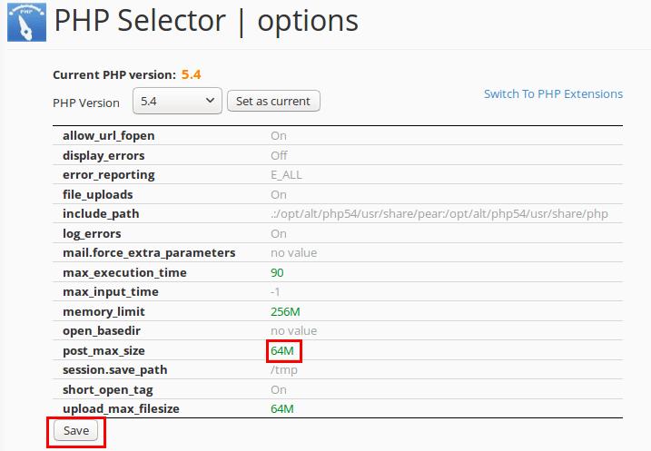 PHP Werte